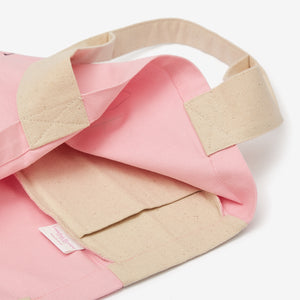 LRB Pink Canvas Eco Tote Bag