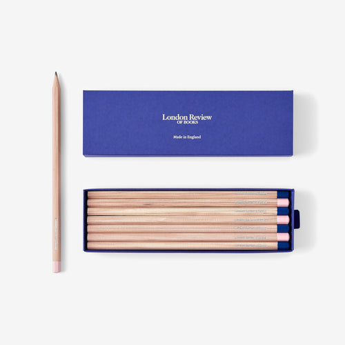 London Review of Books Pencils
