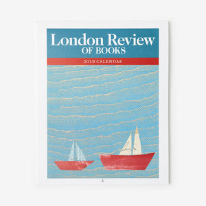 London Review of Books 2019 Issue Cover Calendar