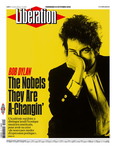 Bob Dylan. The Nobels They Are A-Changin' . 14 octobre 2016