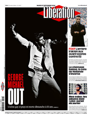 George Michael out. 27 décembre 2016