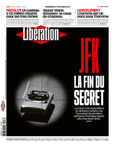 JFK la fin du secret. 27 octobre 2017