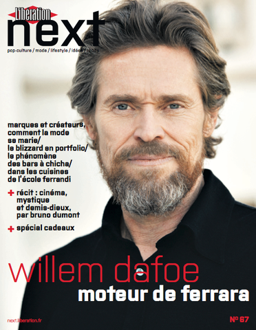Next n°67 - Décembre 2014 - Willem Dafoe [version papier]