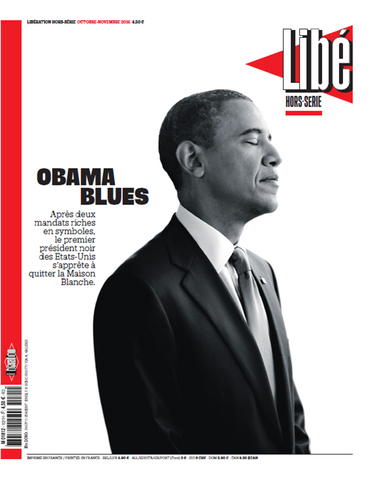 Une 30x40 cm - Obama blues - Tirage photographique professionnel