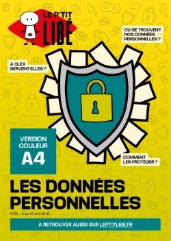 Version PAPIER. LES DONNEES PERSONNELLES - 06 au 12 avril 2018