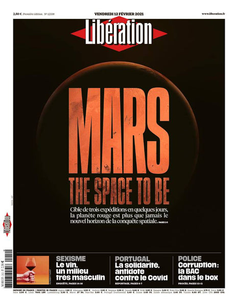 Mars : The space to be. 12 février 2021