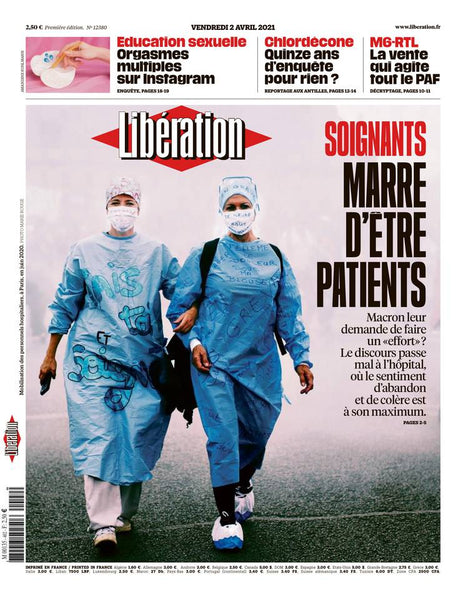 Soignants : Marre d'être patients. 2 avril 2021