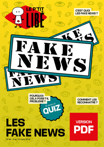 Version PDF - LES FAKE NEWS - 09 au 15 mars 2018