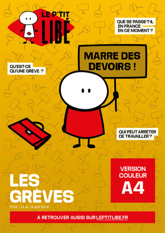 Version PAPIER. LES GREVES - 13 au 19 avril 2018