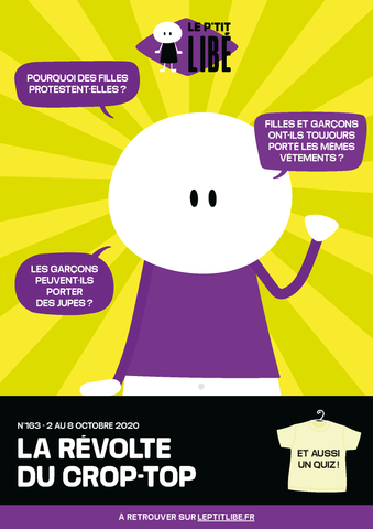 Version PAPIER. LA REVOLTE DU CROP-TOP - 2 au 8 octobre 2020
