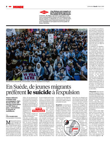 Matteo Salvini : l'italien qui fait trembler l'Europe. / The New York Times. 06 mars 2018
