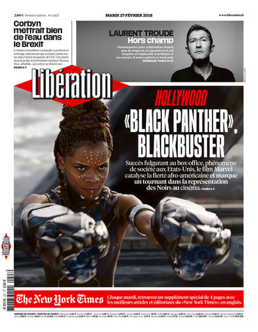 «Black panther», Blackbuster. / The New York Times. 27 février 2018