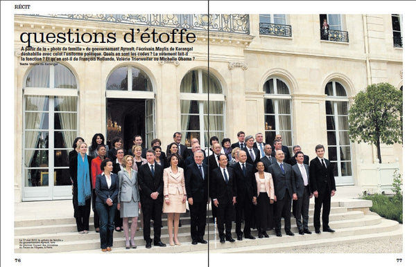 Photo de classe du Gouvernement