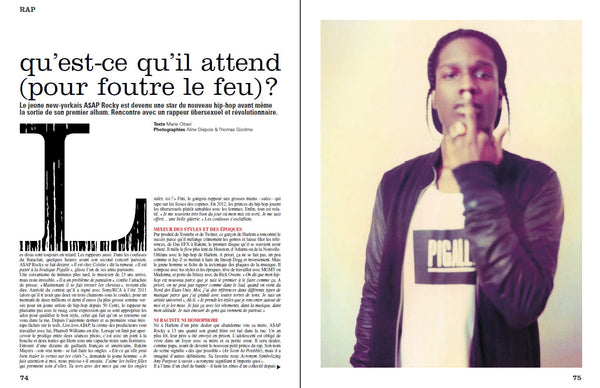 Next n°46 - Septembre 2012 - Benjamin Biolay