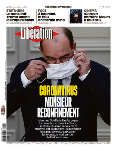Coronavirus : Monsieur reconfinement. 28 octobre 2020