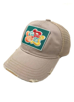 JUDITH MARCH CAN YOU DIG IT PATCH - GREY HAT