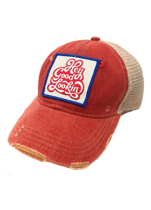 JUDITH MARCH HEY GOOD LOOKIN PATCH - RED HAT