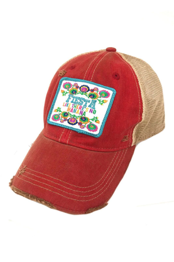 JUDITH MARCH FIESTA LIKE THERE'S NO MANANA PATCH - RED HAT