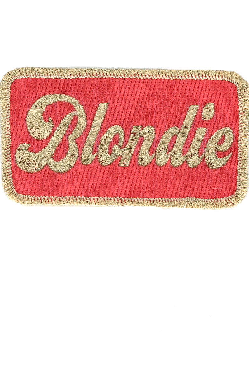 JUDITH MARCH METALLIC BLONDIE PATCH - SEAGREEN