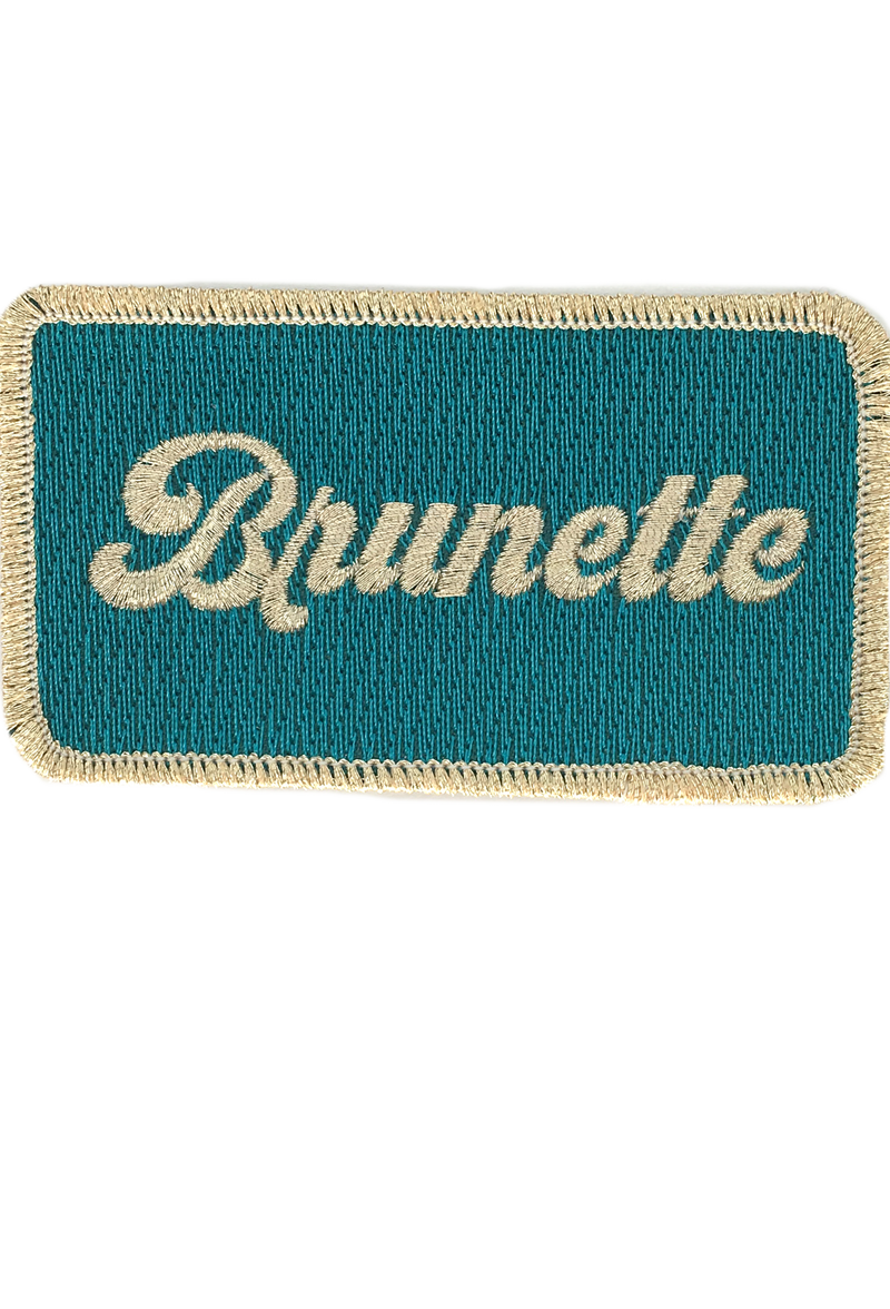 JUDITH MARCH METALLIC BRUNETTE PATCH - FUCHSIA