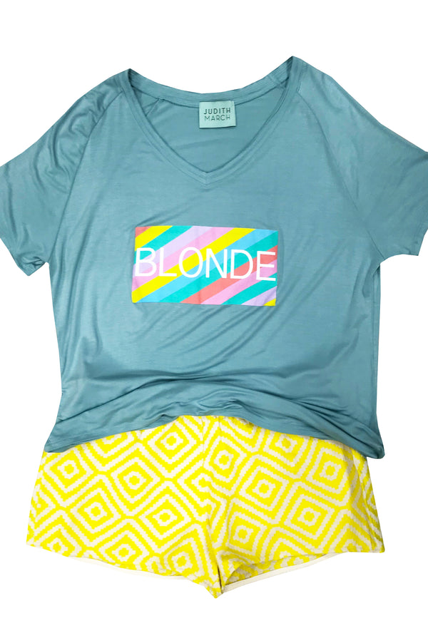 Sun-Kissed Blonde Tee