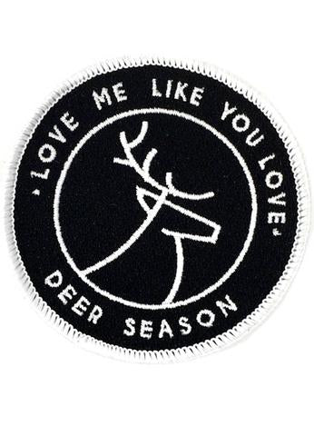 JUDITH MARCH LOVE ME LIKE YOU LOVE DEER SEASON PATCH - PLAID HAT