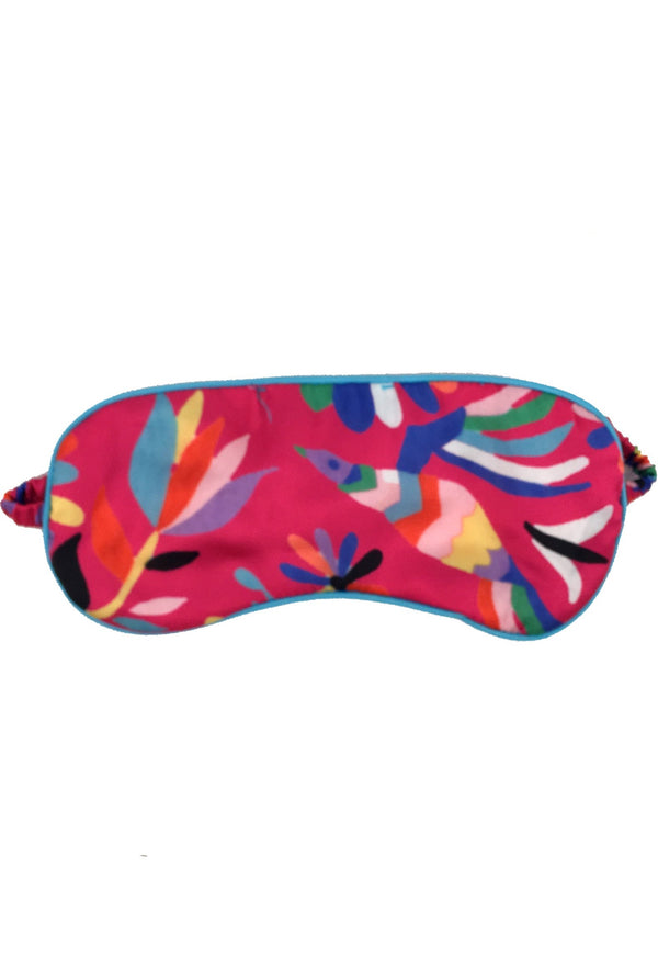 Mexican Bird Satin Eye-mask