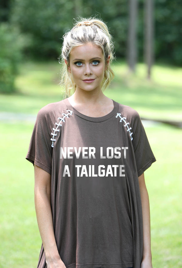 Never Lost A Tailgate Raglan Tee