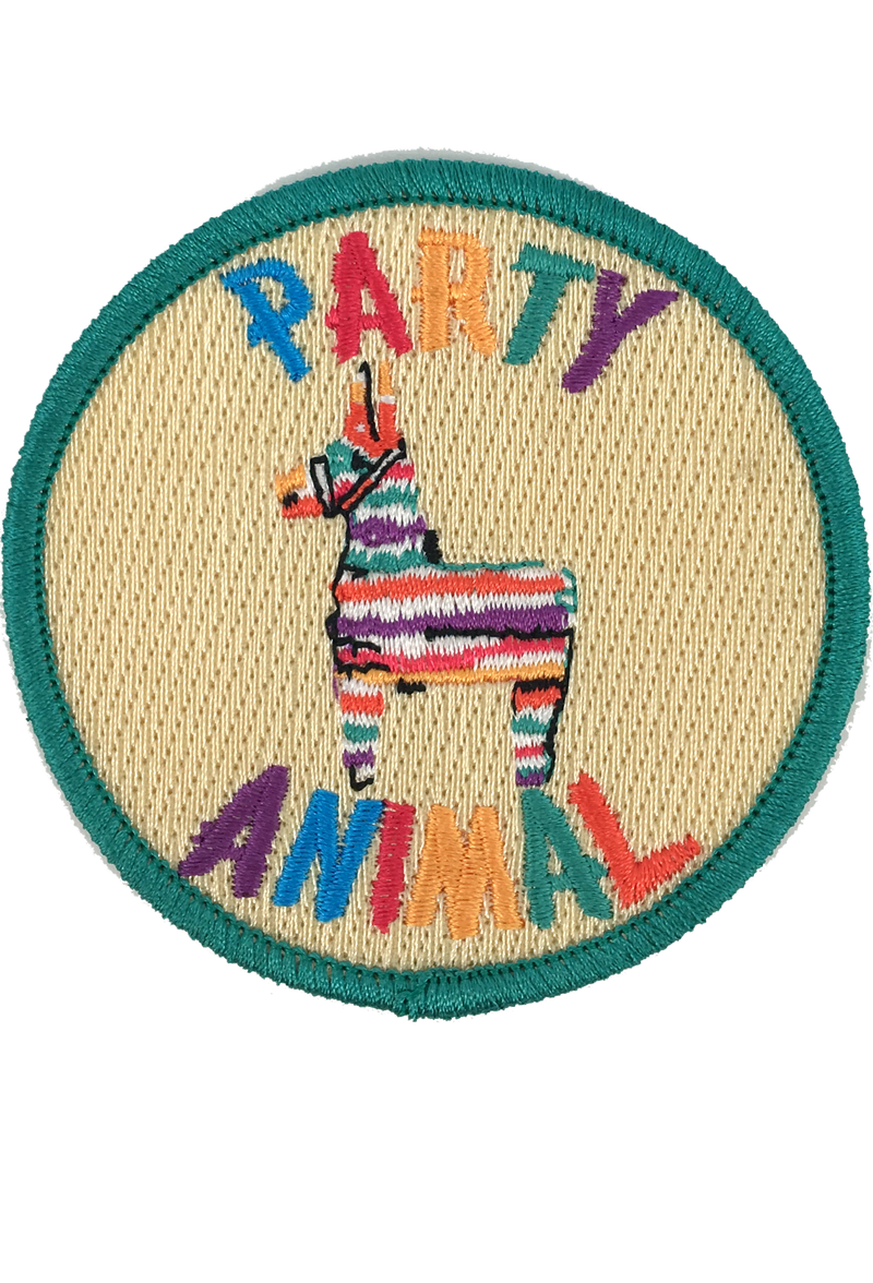 PARTY ANIMAL PATCH - CORAL