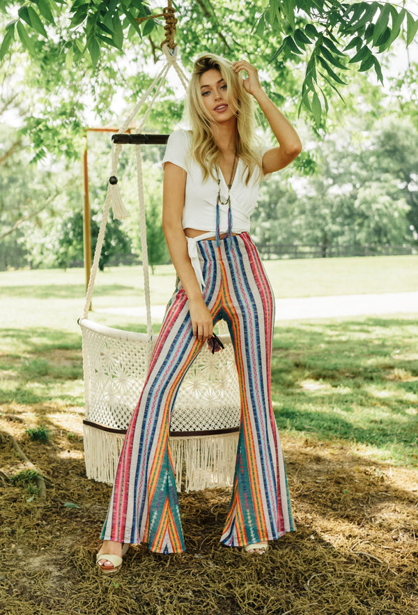 PARTY IN PERU FLARE PANT