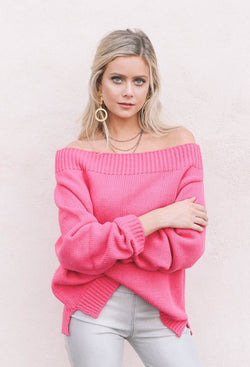 FUSCHIA SWEATER