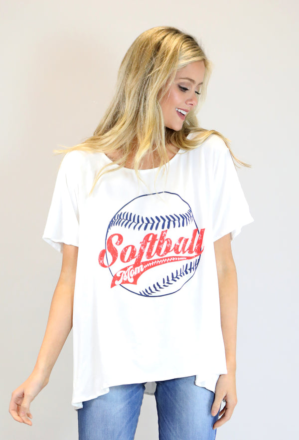 JUDITH MARCH SOFTBALL MOM TEE