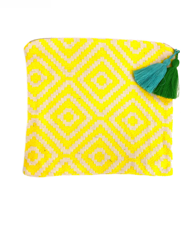 Yellow Makeup Bag