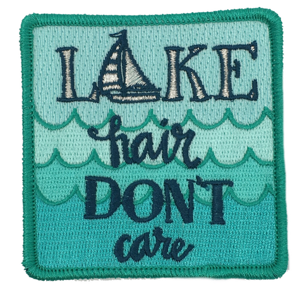 JUDITH MARCH LAKE HAIR DON'T CARE PATCH - BLUE HAT