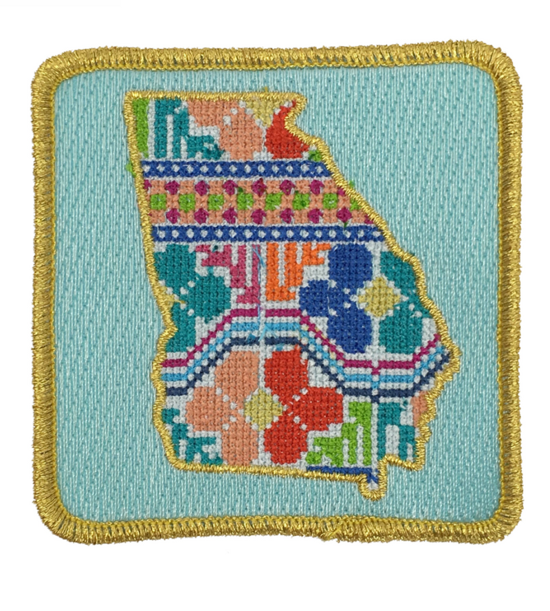 Judith March Patchwork Georgia Patch - Red