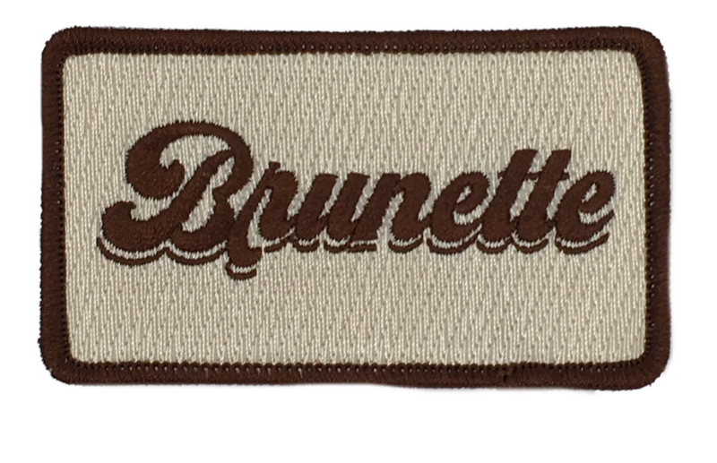 JUDITH MARCH BRUNETTE PATCH - RED HAT