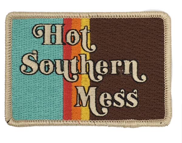JUDITH MARCH HOT SOUTHERN MESS PATCH - BLUE HAT