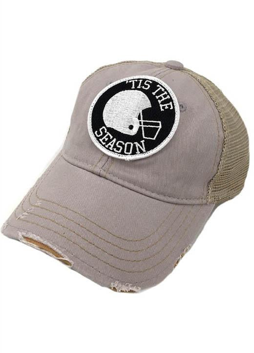 JUDITH MARCH TIS THE SEASON PATCH - GREY HAT