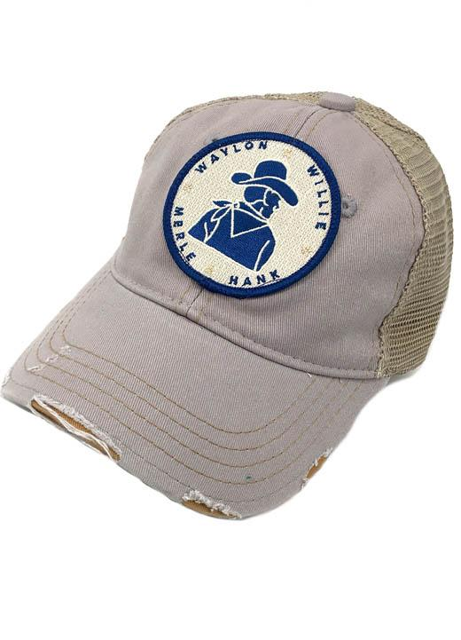 JUDITH MARCH WILD WILD COUNTRY LEGENDS PATCH - GREY HAT