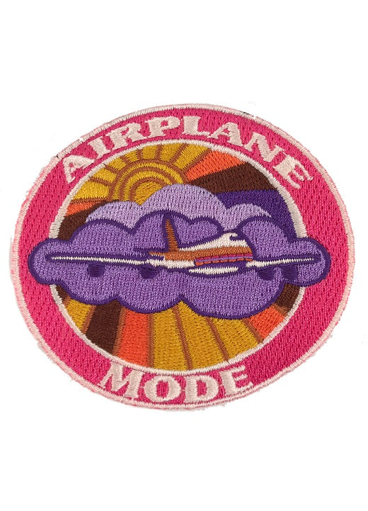 JUDITH MARCH AIRPLANE MODE PATCH - BLUE HAT