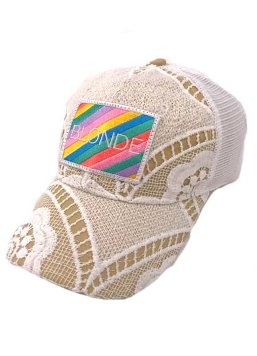 Sun-Kissed Blonde Hat- Crotchet