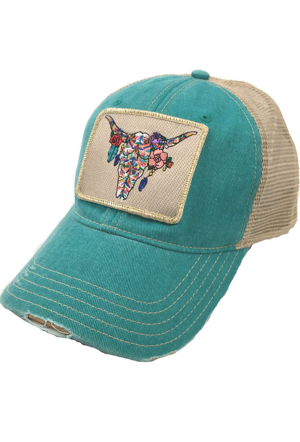 BOHO STEERHEAD PATCH