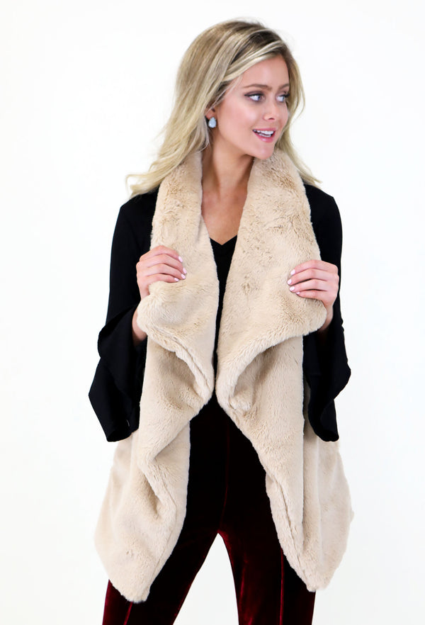 Tan Brown Vest