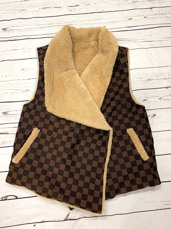CHECK MATE JUDITH MARCH VEST