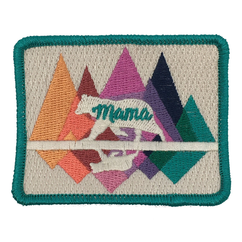 JUDITH MARCH MAMA BEAR PATCH - SUEDE HAT