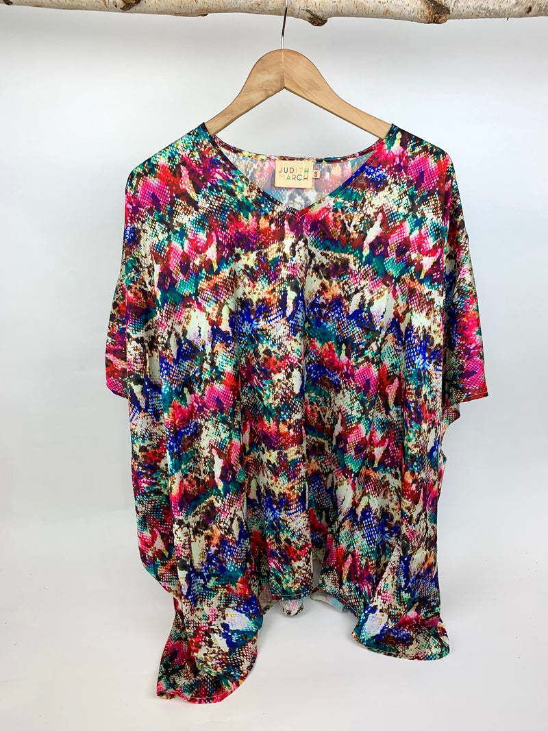 JUDITH MARCH MULTI SNAKE TUNIC