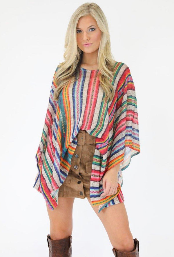 PARTY IN PERU V-NECK TUNIC