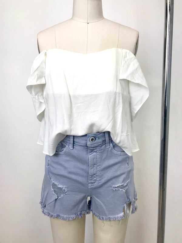 REVERSE MEX TEX DENIM SHORT