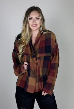 Flannel Love Shirt