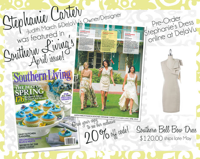 Stephanie Carter's Southern Living Dress